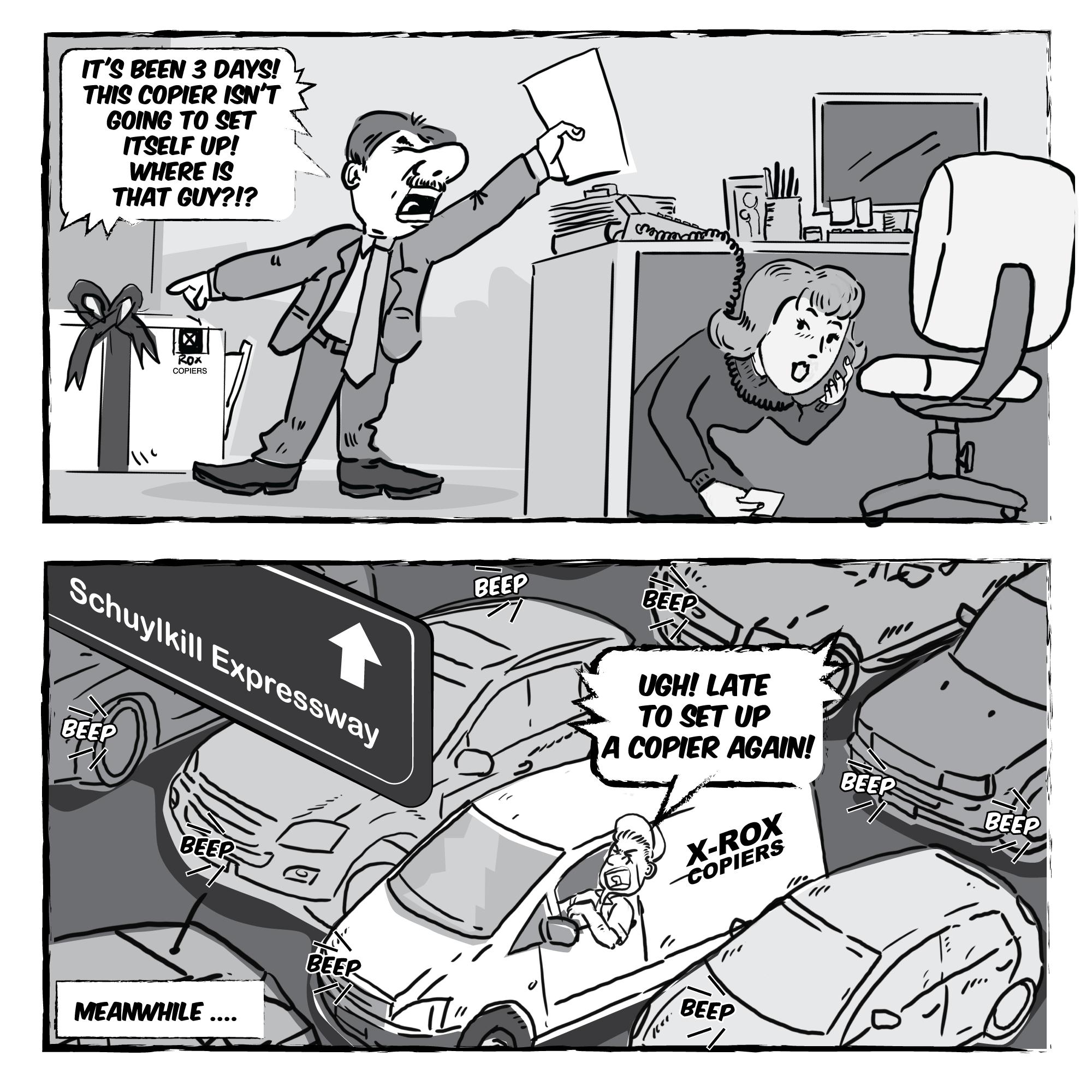Business Comic/Illustration