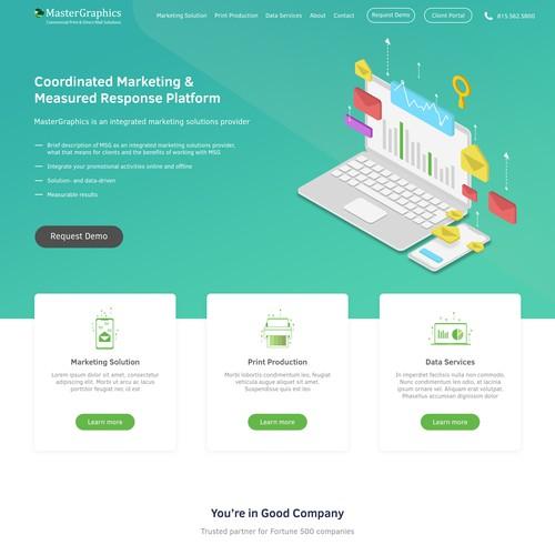 Marketing Landingpage
