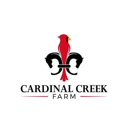 Horse farm logo concept
