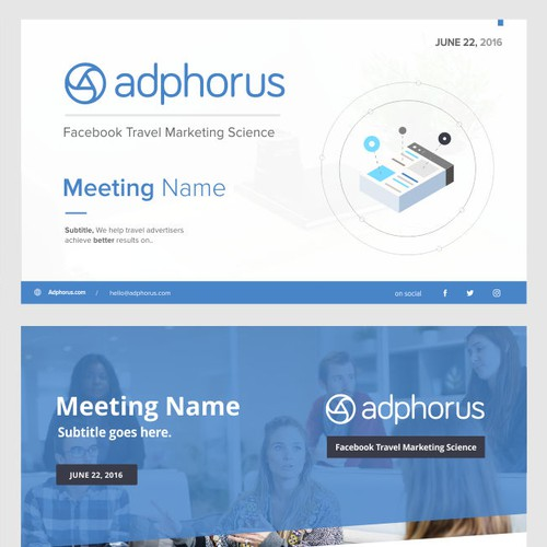 Adphorus Power Point Template