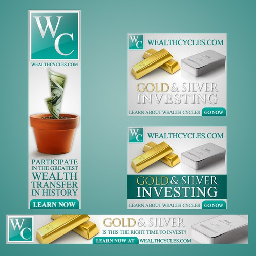 WealthCycles.com - Large Company Needs Banners - Opportunity For Future Work