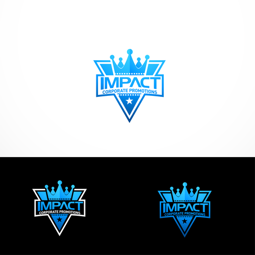 Impactful logo for Promotions -featured on major film releases