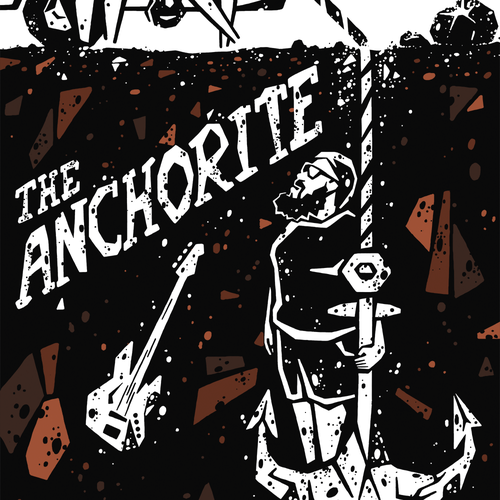 "Poster for indie movie ""The Anchorite"""