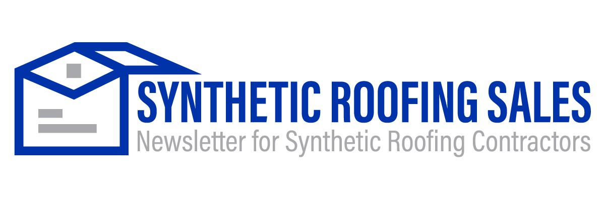 Email Newsletter Masthead Logo - Synthetic Roofing Sales