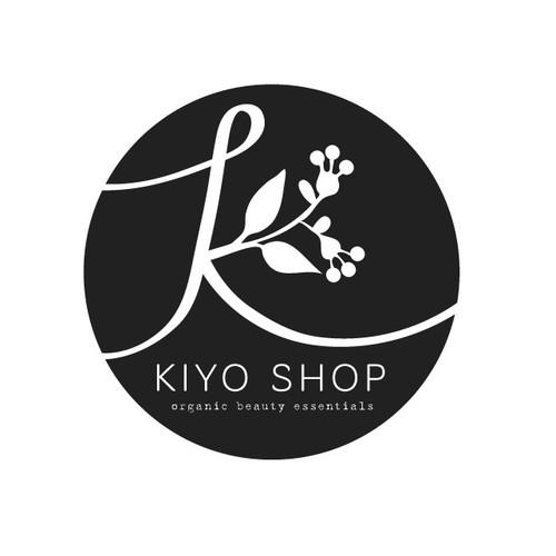 Create a modern/elegant logo for kiyo shop