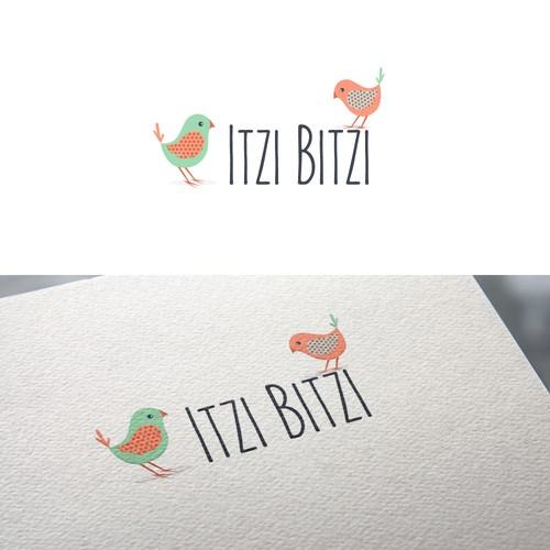 "Design a youthful catchy logo for ""Itzi Bitzi"""