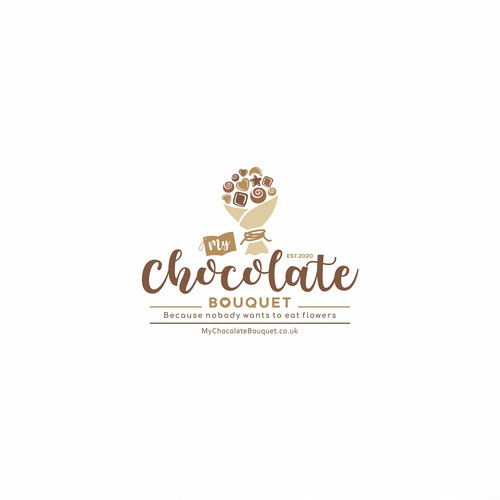 Logo for chocolate gift company