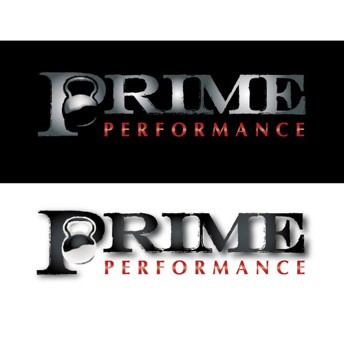 Can you design your best fitness logo for Prime Performance