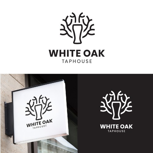 White Oak Logo Design
