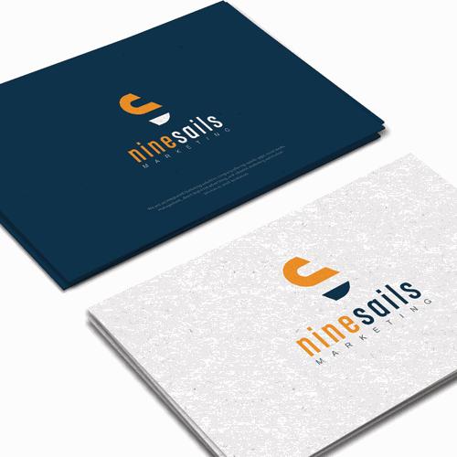 logo for NineSails Marketing