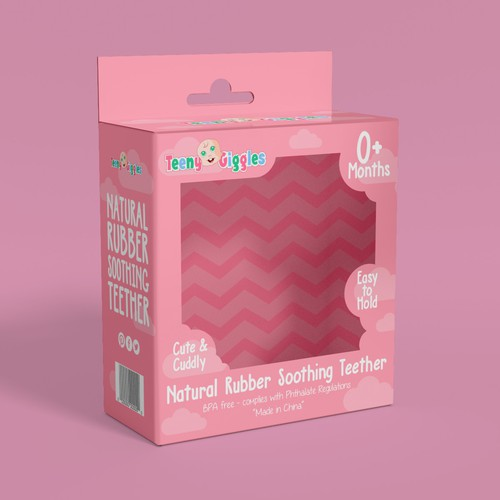 Natural Rubber Soothing Teether