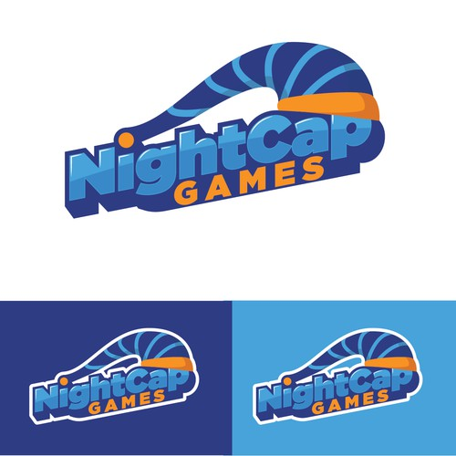 Fun logo for a mobile gaming company