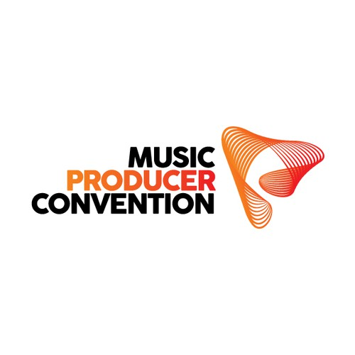 Logo concept for a big professional music convention