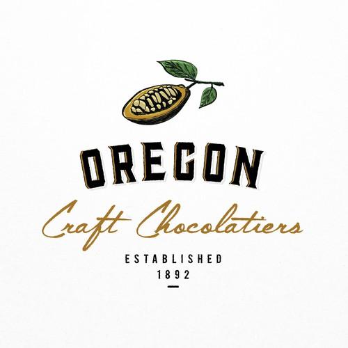Concept for Oregon Craft Chocolatiers