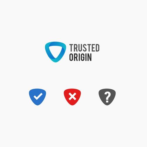 Simple Logo for Trusted Origin