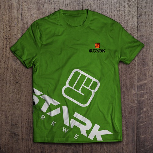 Logo for Stark work ware clothing company