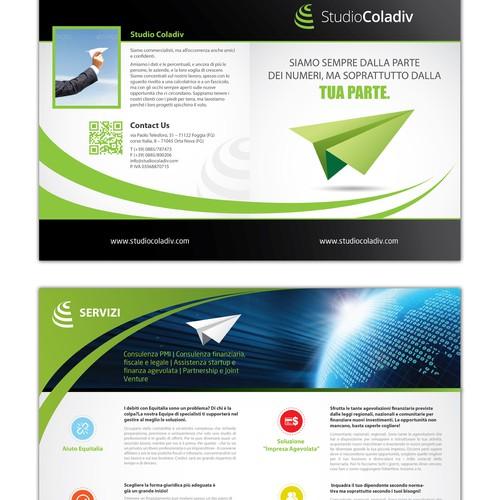 Nuovo brochure design richiesto per Studiocoladiv
