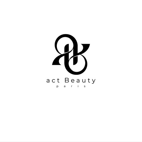 Act Beauty logo concept