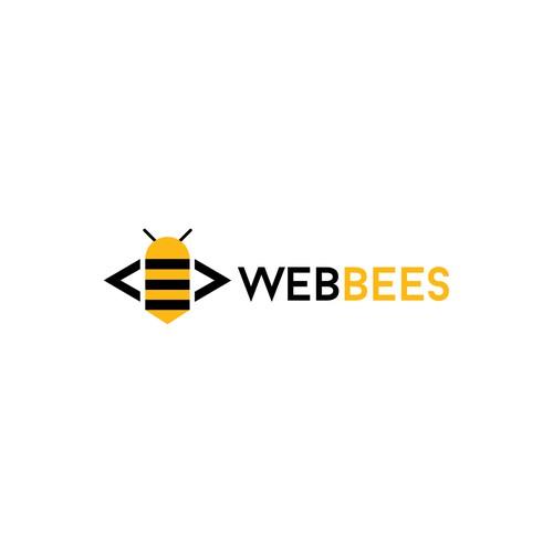 modern logo for web developer