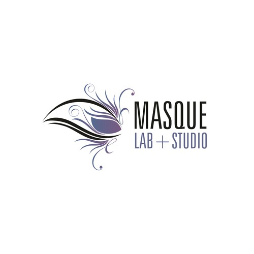 Masque Lab + Studio logo design