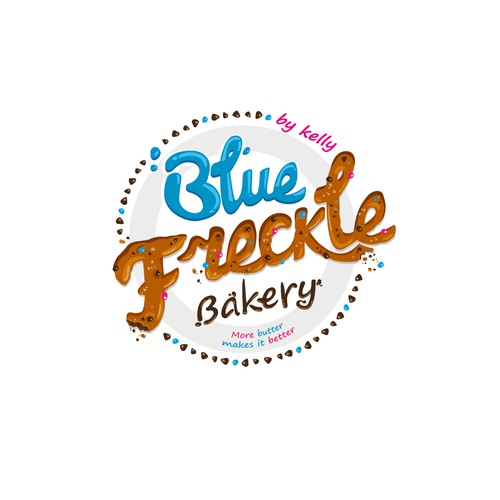Delicious logo for a self-taught baker