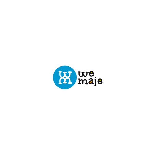 Création d'un logo pour la nouvelle agence de communication WE MAJE !