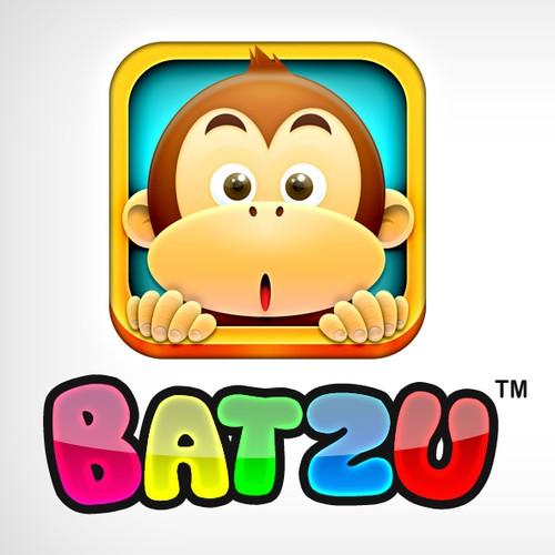Batzu Monkey iOS App Icon