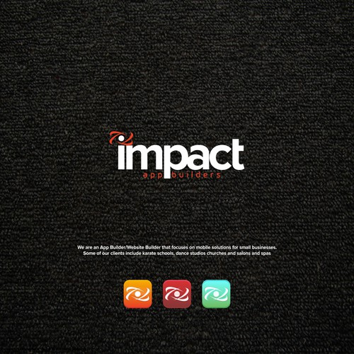 Create a logo for Impact App Builders