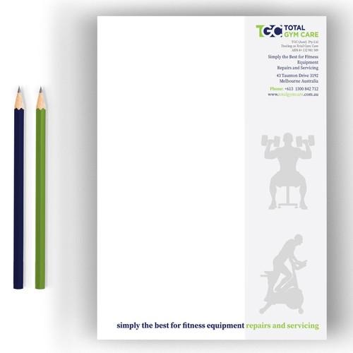 Exclusive  Letterhead Design
