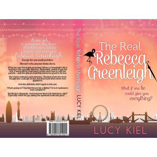 Design a book cover for a chick-lit/romantic comedy novel
