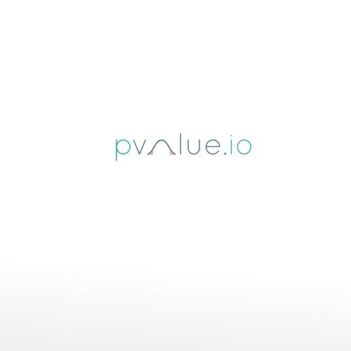 pvalue logo design