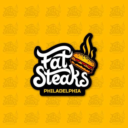Logo Designs for Cheesesteak Restaurant in Saudi Arabia