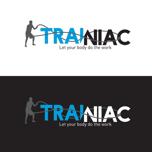 Logo for a fitness instructor