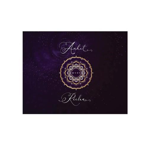 """Ankit Weds Richa "" -a  wedding Mandala"