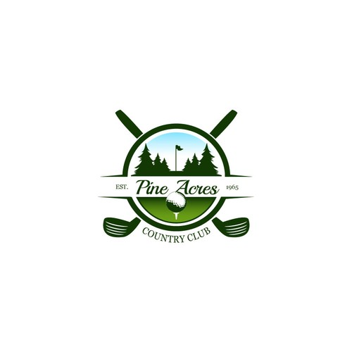 Create a fresh and exciting logo for a public golf course looking to rebuild its image!