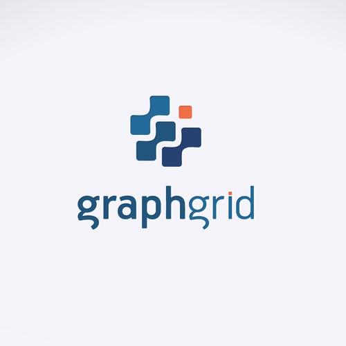 Create a compelling and distinguished logo for GraphGrid