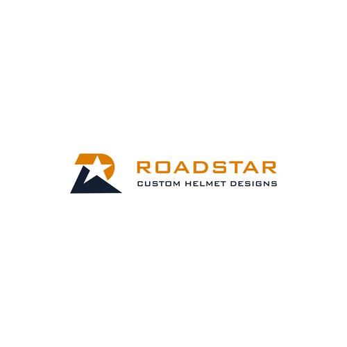 logo concept for ROADSTAR Custom Helmet Design