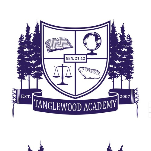 logo for private school Tanglewood Academy
