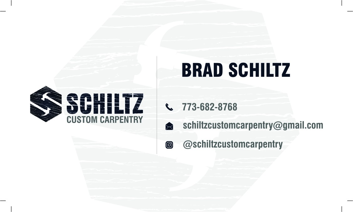 making business card for schiltzcustomcarpentry