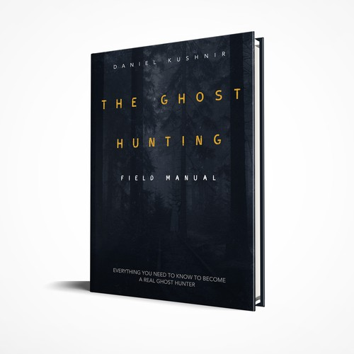 Book cover design for Ghost Hunters