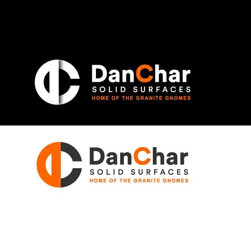 D C letter logo design