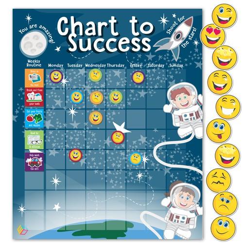 Children's Space Chore Chart