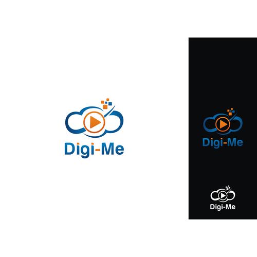 Create a logo design for a leading edge tech company