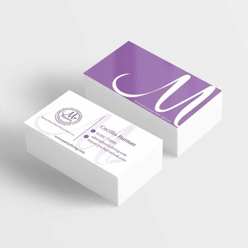 Business Card for Cosmetic Company