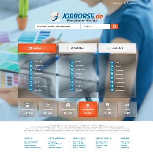 Redesign of Huge German Jobboard