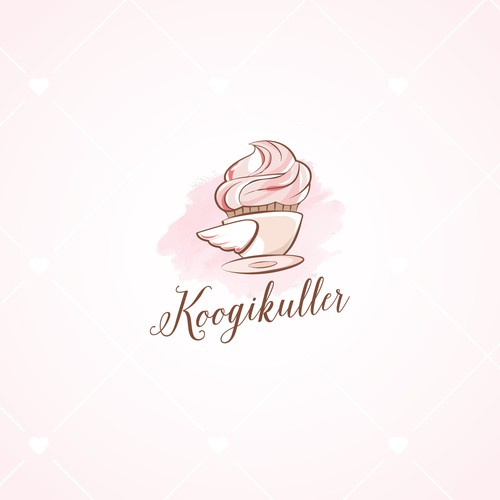 Logo for cupcake delivery company