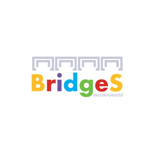 "Bridges Inc Logo Design Challenge - Autism without the ""Puzzle Pieces"""