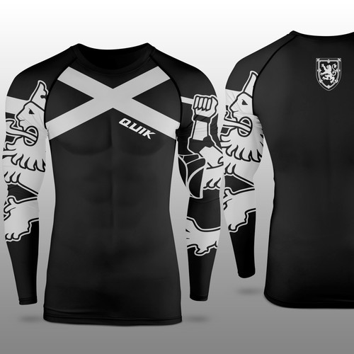 Quik Hockey Apparel Goalie Compression Shirt-