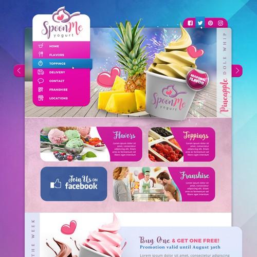 Fun and Trendy Frozen Yogurt Shop!