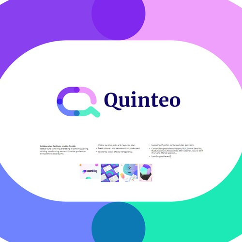 Q Logo Design Proposal for Quinteo (Unused)
